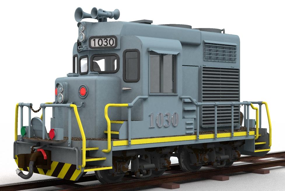 """アメリカ型ディーゼル機関車""""EMD..."""